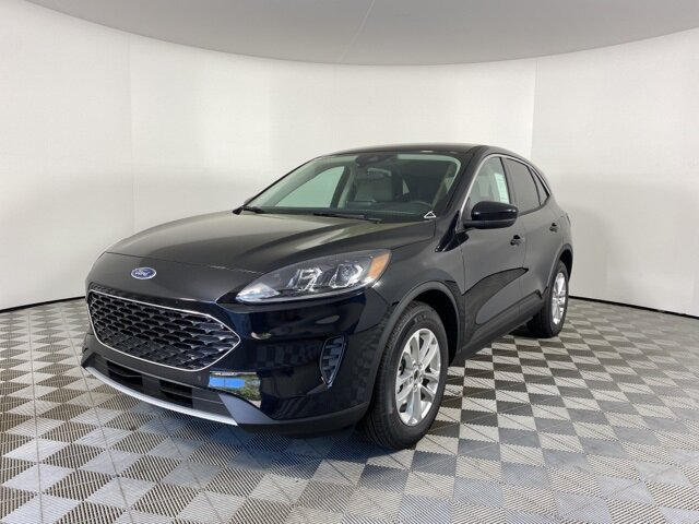 2021 Black Ford Escape SE 4 Door FWD 1.5L EcoBoost Engine SUV Automatic
