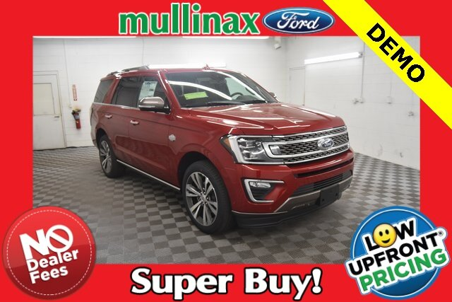 2021 RAPID RED TINTED Ford Expedition King Ranch RWD EcoBoost 3.5L V6 GTDi DOHC 24V Twin Turbocharged Engine Automatic SUV 4 Door