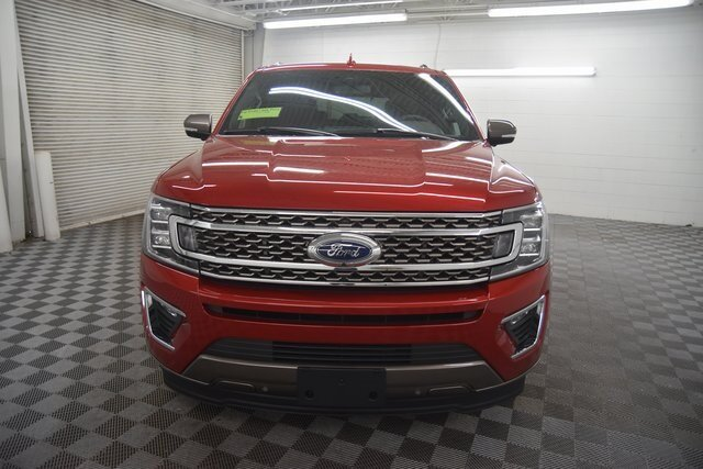 2021 RAPID RED TINTED Ford Expedition King Ranch Automatic 4 Door RWD SUV