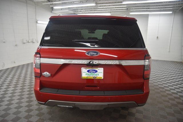2021 RAPID RED TINTED Ford Expedition King Ranch SUV Automatic EcoBoost 3.5L V6 GTDi DOHC 24V Twin Turbocharged Engine 4 Door