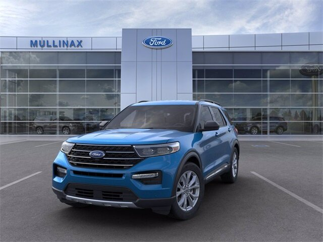 2021 Ford Explorer XLT EcoBoost 2.3L I4 GTDi DOHC Turbocharged VCT Engine SUV Automatic
