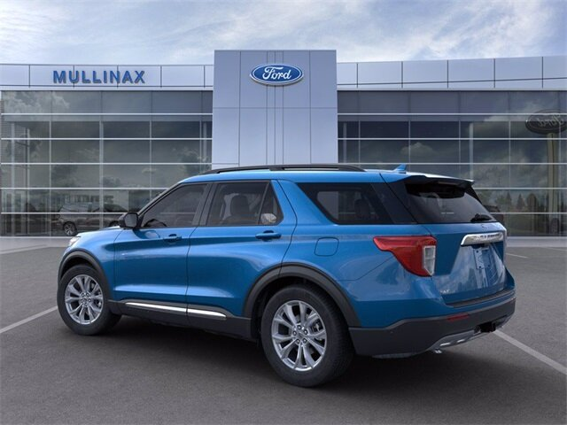 2021 Ford Explorer XLT SUV RWD EcoBoost 2.3L I4 GTDi DOHC Turbocharged VCT Engine Automatic 4 Door