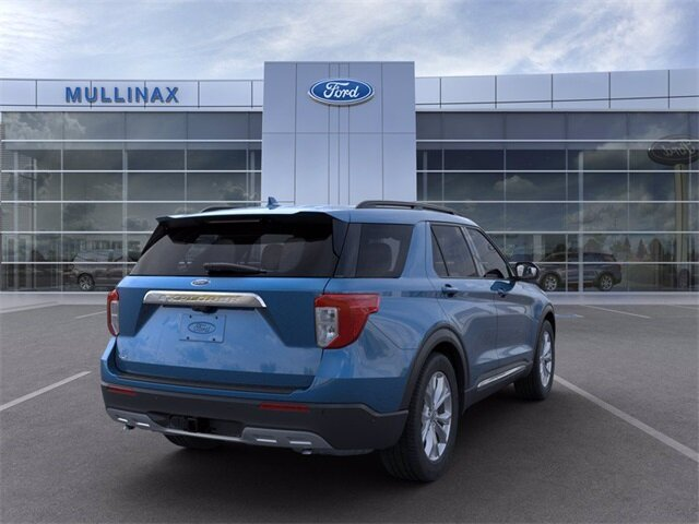 2021 Ford Explorer XLT SUV RWD EcoBoost 2.3L I4 GTDi DOHC Turbocharged VCT Engine 4 Door Automatic