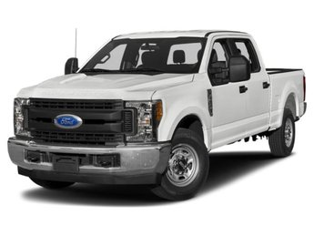 2019 Oxford White Ford Super Duty F-250 SRW XL 4 Door 4X4 6.2L SOHC Engine