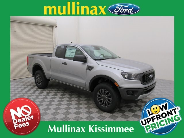 2021 Iconic Silver Metallic Ford Ranger XLT Automatic EcoBoost 2.3L I4 GTDi DOHC Turbocharged VCT Engine 4 Door