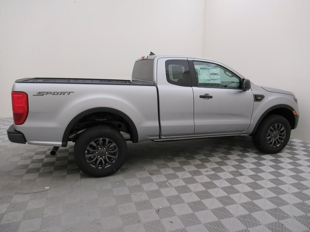 2021 Ford Ranger XLT EcoBoost 2.3L I4 GTDi DOHC Turbocharged VCT Engine Truck 4 Door RWD Automatic