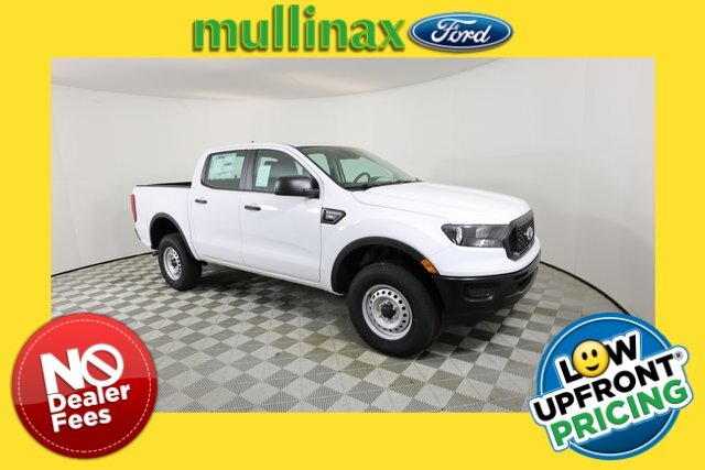 2021 Oxford White Ford Ranger XL Truck Automatic RWD EcoBoost 2.3L I4 GTDi DOHC Turbocharged VCT Engine 4 Door