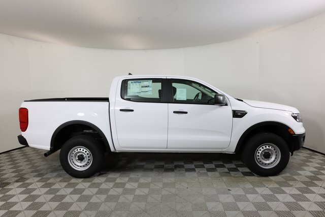 2021 Oxford White Ford Ranger XL RWD Truck EcoBoost 2.3L I4 GTDi DOHC Turbocharged VCT Engine 4 Door