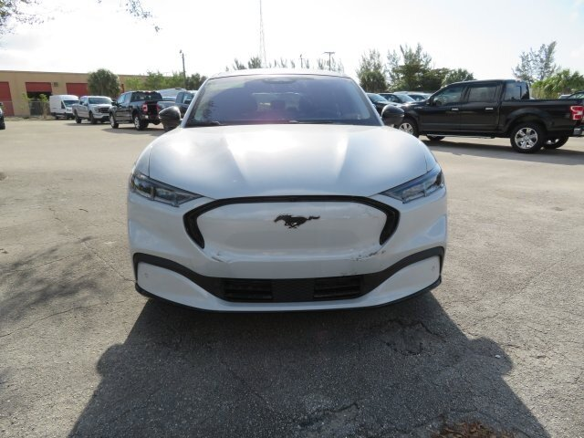 2021 Space White Metallic Ford Mustang Mach-E Premium SUV Automatic 4 Door