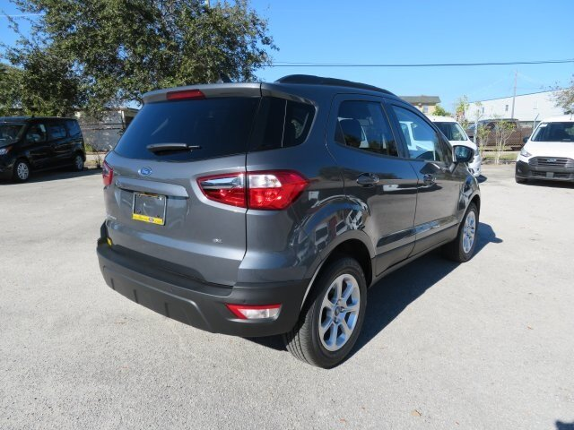 2021 Ford EcoSport SE FWD 4 Door SUV Automatic EcoBoost 1.0L I3 GTDi DOHC Turbocharged VCT Engine