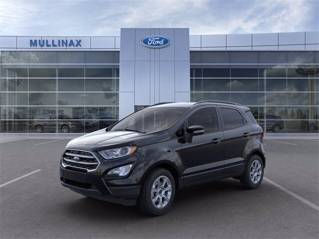 2021 Shadow Black Ford EcoSport SE 4 Door FWD Automatic EcoBoost 1.0L I3 GTDi DOHC Turbocharged VCT Engine SUV