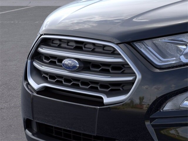 2021 Shadow Black Ford EcoSport SE Automatic EcoBoost 1.0L I3 GTDi DOHC Turbocharged VCT Engine SUV