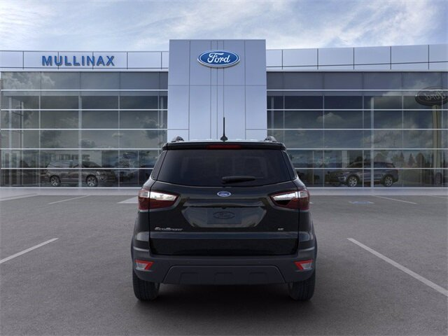 2021 Shadow Black Ford EcoSport SE FWD EcoBoost 1.0L I3 GTDi DOHC Turbocharged VCT Engine 4 Door