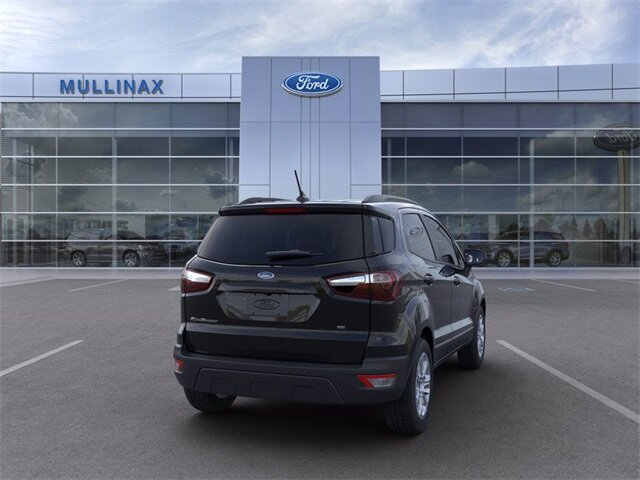2021 Ford EcoSport SE EcoBoost 1.0L I3 GTDi DOHC Turbocharged VCT Engine Automatic 4 Door SUV