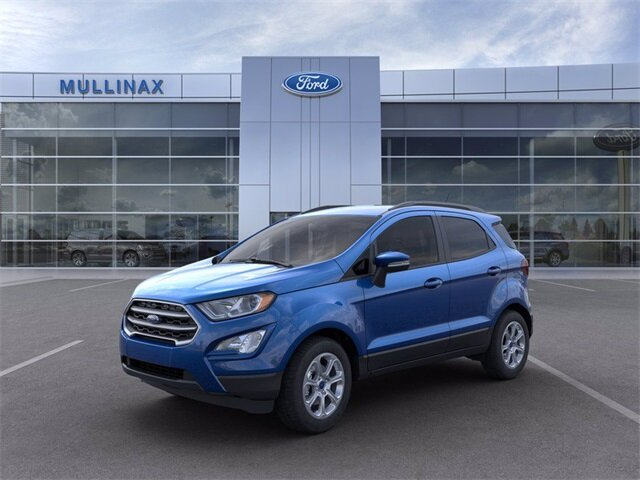 2021 Ford EcoSport SE SUV 4 Door EcoBoost 1.0L I3 GTDi DOHC Turbocharged VCT Engine FWD
