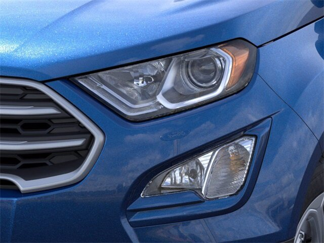 2021 Lightning Blue Metallic Ford EcoSport SE Automatic EcoBoost 1.0L I3 GTDi DOHC Turbocharged VCT Engine FWD SUV 4 Door