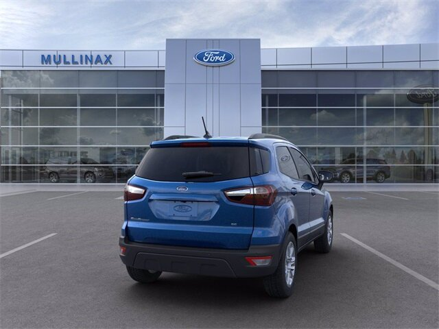 2021 Ford EcoSport SE FWD SUV EcoBoost 1.0L I3 GTDi DOHC Turbocharged VCT Engine 4 Door Automatic