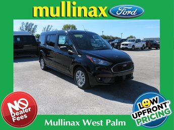 2021 Agate Black Metallic Ford Transit Connect XLT Automatic I4 Engine Van FWD