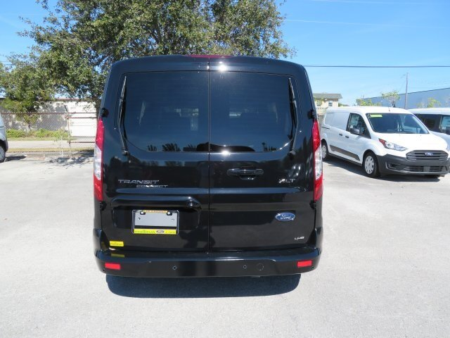 2021 Agate Black Metallic Ford Transit Connect XLT Automatic 4 Door I4 Engine