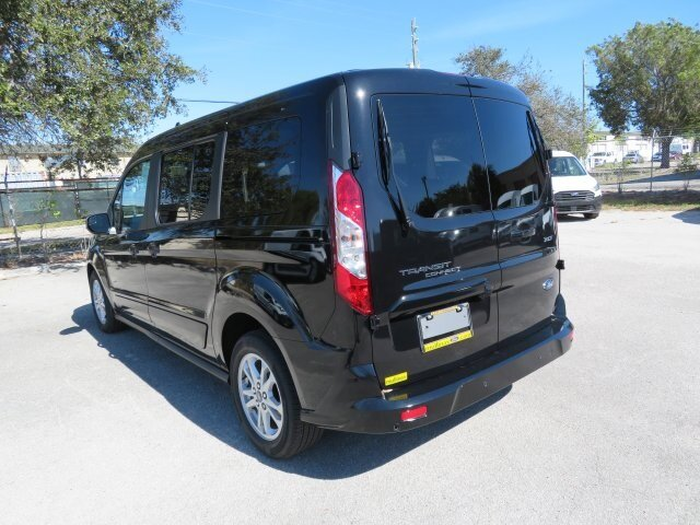 2021 Agate Black Metallic Ford Transit Connect XLT FWD I4 Engine Van