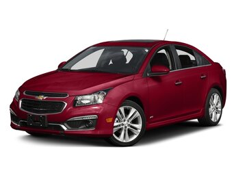 2015 Siren Red Tintcoat Chevrolet Cruze 1LT 4 Door Sedan FWD