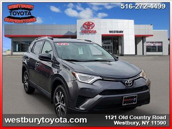 2016 Toyota RAV4 LE 4 Cylinder Engine 4 Door SUV AWD Automatic