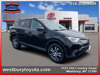 2018 BLACK Toyota RAV4 LE 4 Door SUV Automatic