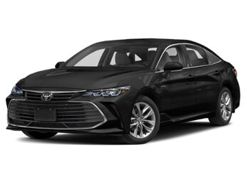 2021 Midnight Black Metallic Toyota Avalon Hybrid XLE FWD Automatic 4 Cylinder Engine 4 Door Car