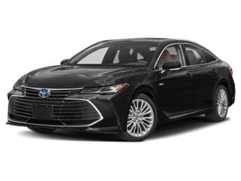 2021 Midnight Black Metallic Toyota Avalon Hybrid Limited 4 Cylinder Engine FWD Automatic Car 4 Door