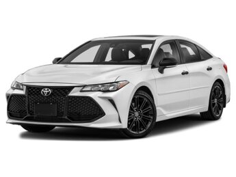 2021 Wind Chill Pearl/Midnight Black Metallic Toyota Avalon TRD 4 Door Automatic FWD V6 Cylinder Engine