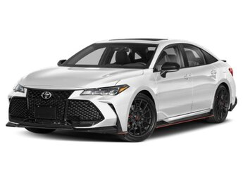 2021 Wind Chill Pearl/Midnight Black Metallic Toyota Avalon TRD FWD V6 Cylinder Engine Car