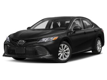 2020 Midnight Black Metallic Toyota Camry LE FWD Automatic 4 Door Car 4 Cylinder Engine