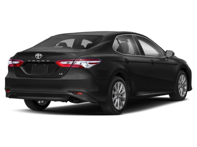 2020 Midnight Black Metallic Toyota Camry LE 4 Door FWD 4 Cylinder Engine Automatic Sedan