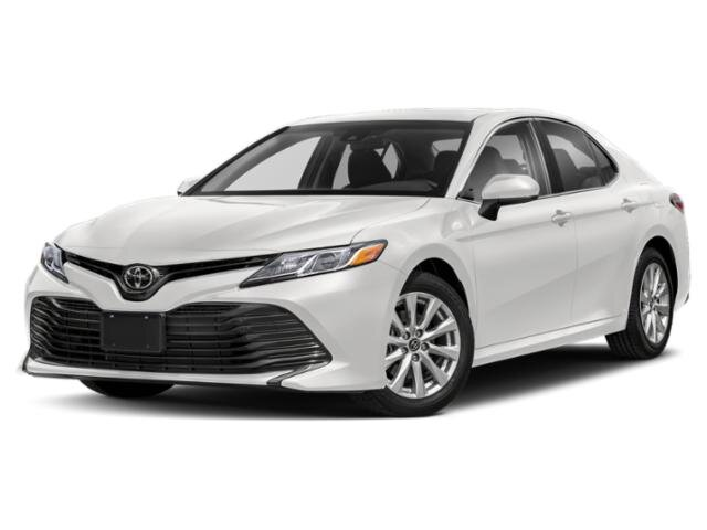 2020 Super White Toyota Camry LE 4 Cylinder Engine 4 Door AWD