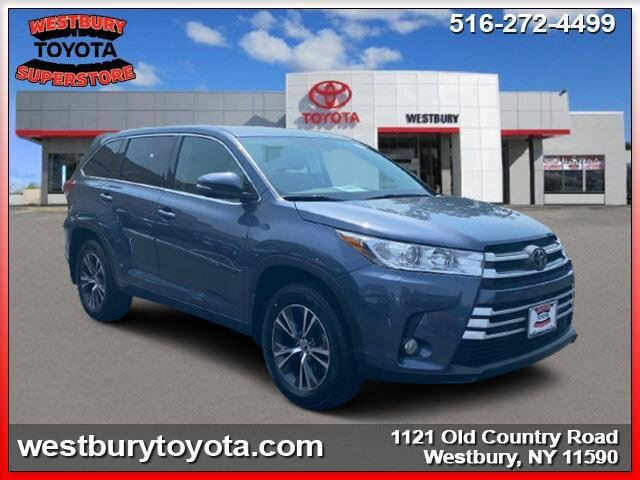 2018 SHORELINE BLUE PEARL Toyota Highlander LE Plus Automatic AWD 4 Door SUV
