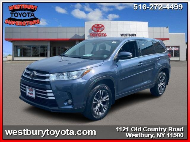 2018 SHORELINE BLUE PEARL Toyota Highlander LE Plus AWD V6 Cylinder Engine 4 Door SUV