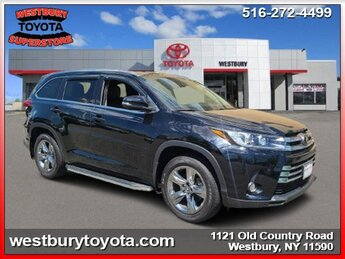2018 Toyota Highlander Limited Platinum V6 Cylinder Engine Automatic SUV AWD