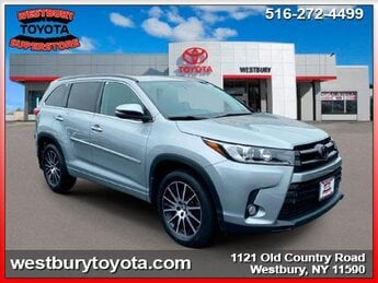 2018 CELESTIAL SILVER METALLIC Toyota Highlander SE V6 Cylinder Engine 4 Door Automatic SUV AWD