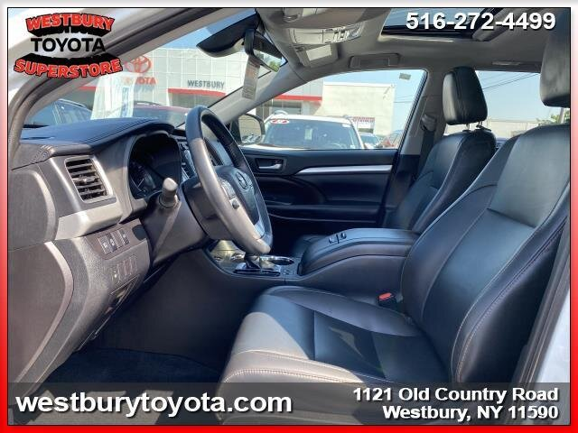 2019 BLIZZARD PEARL Toyota Highlander XLE Automatic V6 Cylinder Engine 4 Door SUV AWD