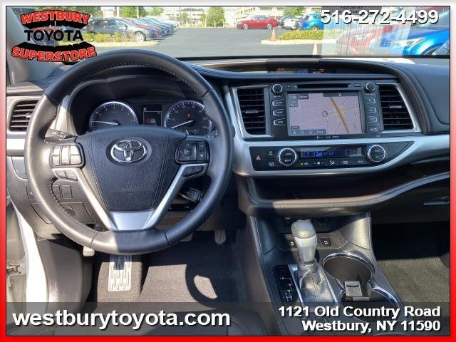 2019 BLIZZARD PEARL Toyota Highlander XLE V6 Cylinder Engine Automatic 4 Door SUV