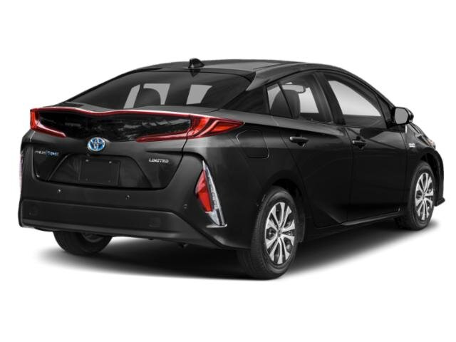 2021 Midnight Black Metallic Toyota Prius Prime Limited FWD Automatic 4 Cylinder Engine