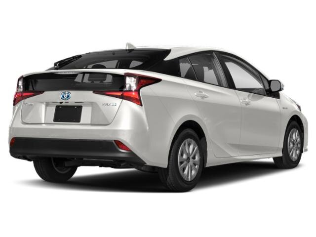 2021 Wind Chill Pearl Toyota Prius XLE 4 Cylinder Engine Hatchback 4 Door Automatic (CVT) AWD