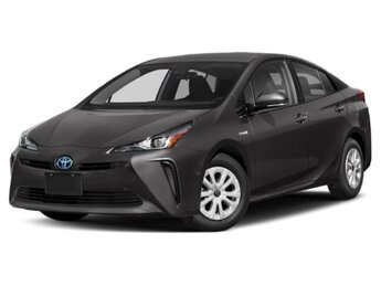 2021 Wind Chill Pearl Toyota Prius LE Automatic 4 Cylinder Engine 4 Door Hatchback AWD