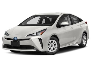 2021 Wind Chill Pearl Toyota Prius XLE Hatchback 4 Cylinder Engine AWD 4 Door