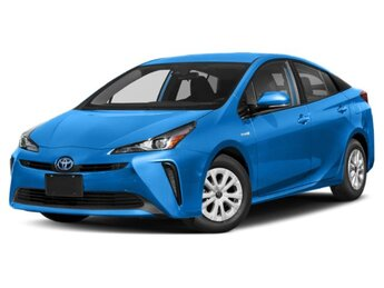 2021 Electric Storm Blue Toyota Prius XLE Hatchback 4 Door 4 Cylinder Engine AWD