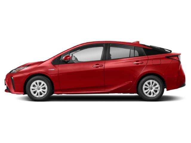 2021 Supersonic Red Toyota Prius XLE Hatchback AWD 4 Cylinder Engine 4 Door