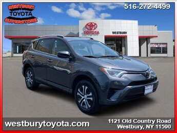 2018 MAGNETIC GRAY METALLIC Toyota RAV4 LE 4 Cylinder Engine 4 Door Automatic SUV AWD