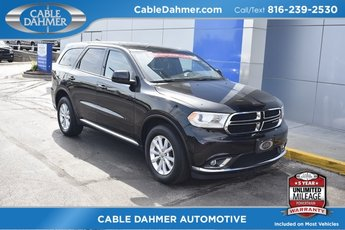 2015 True Blue Pearlcoat Dodge Durango SXT 4 Door SUV 3.6L V6 Flex Fuel 24V VVT Engine