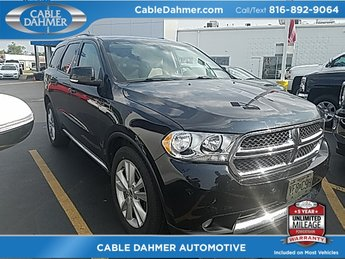 2012 Dodge Durango Crew 4 Door 3.6L 6-Cylinder SMPI DOHC Engine Automatic AWD