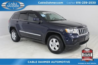 2013 True Blue Pearl Jeep Grand Cherokee Laredo 3.6L V6 Flex Fuel 24V VVT Engine 4X4 Automatic SUV